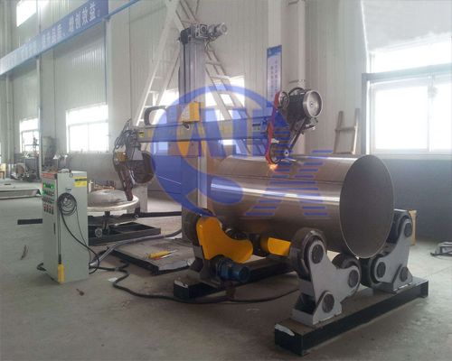 Tank (Dish head) polishing machine
